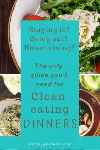 Clean eating dinner ideas