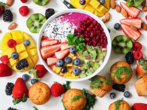 Clean eating - Colourful fruit salad